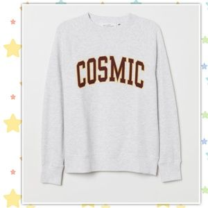 "❤ H&M ""Cosmic"" Sweatshirt Size M ❤"